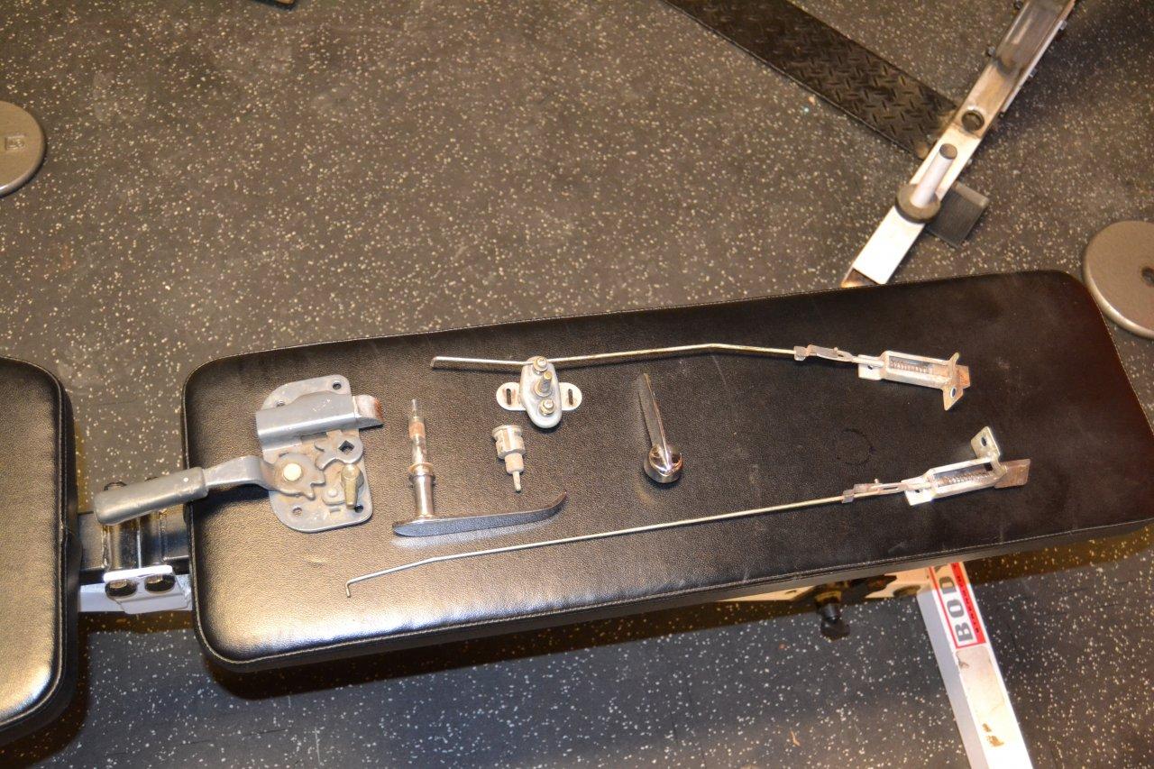 Wanted 1979 Fj40 Ambulance Door Locking Mechanism