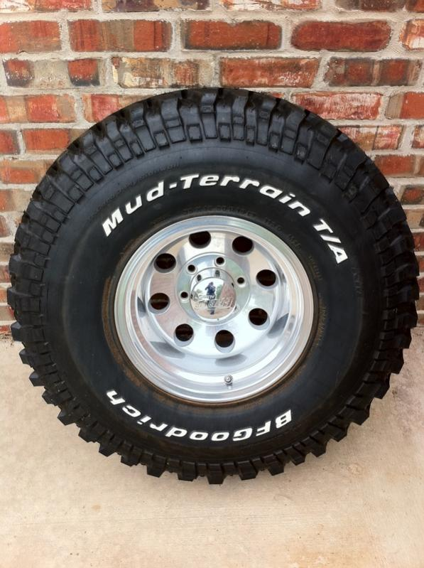 Used Mud Tires For Sale >> For Sale - BFG 35x12.5x15 MT KM-(5) Brand New | IH8MUD Forum