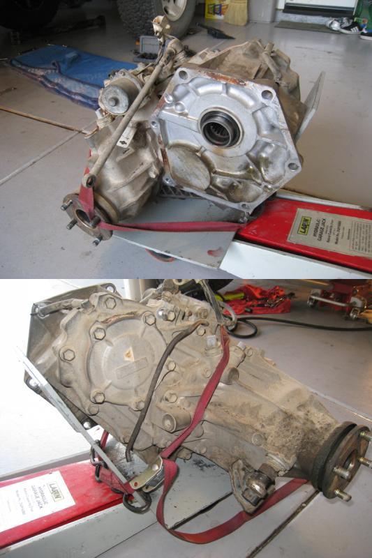 landcruiser 80 series manual gearbox oil leak