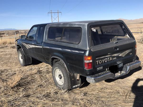 For Sale - Cody, Wyoming: 1992 Toyota extended cab 4x4 ...
