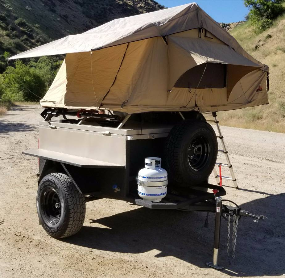 For Sale - Overland Trailer w/ Roof Top Tent | IH8MUD Forum