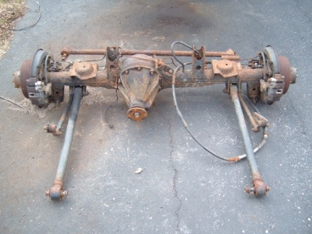 93 Fj80 Rear Axle Suspension Control Arms Third Member