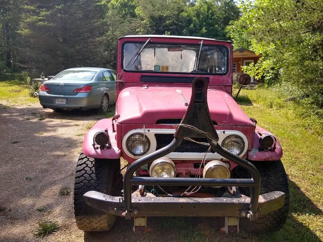 craigslist - '64 FJ40 West Virginia, no affiliation ...