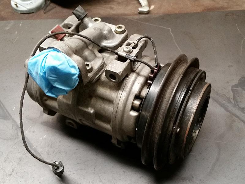 FJ62 A/C overhaul with Denso 10P15C compressor rebuild | IH8MUD Forum