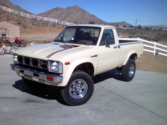Body On Restore 1981 Toyota 4x4 Sr5 Pickup So Cal