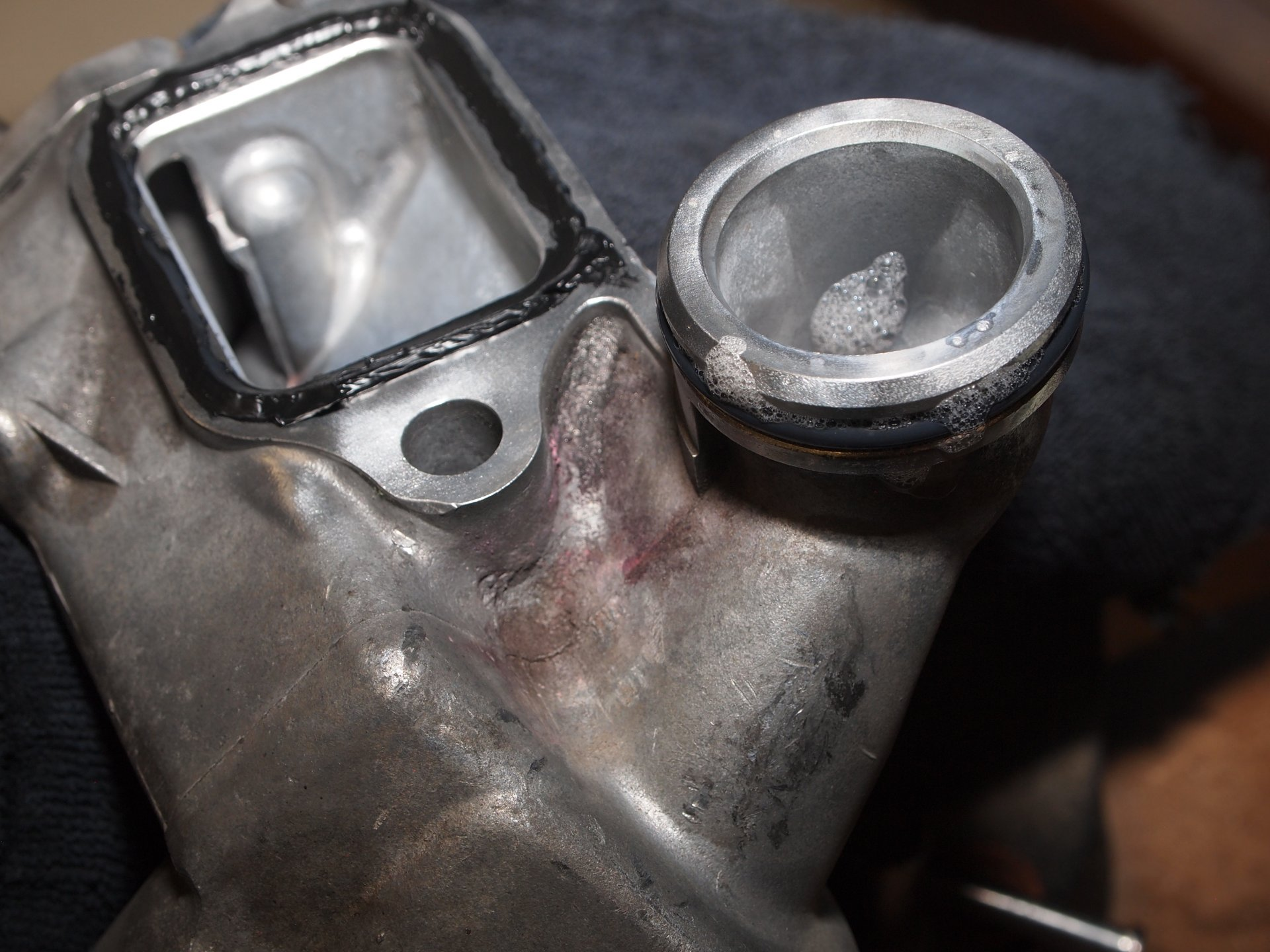 Coolant leak at water inlet and   | IH8MUD Forum