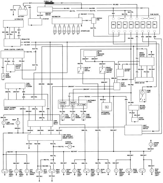 Enhanced pre1972 FJ    Wiring       Diagram     as requested   IH8MUD Forum