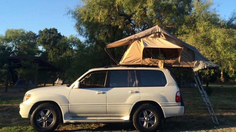 For sale 1998 lexus lx470 with arb rooftop tent dallas 1g publicscrutiny Gallery
