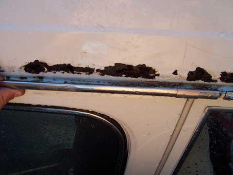 Rain Gutter Rust Repair Help Ih8mud Forum