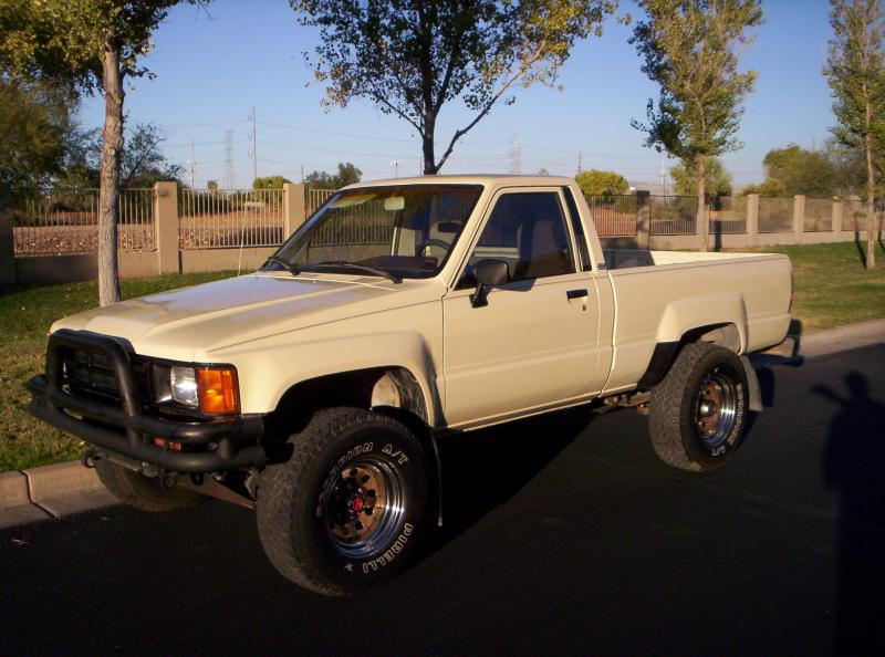 1986 toyota 4x4 pickup 22r ih8mud forum. Black Bedroom Furniture Sets. Home Design Ideas