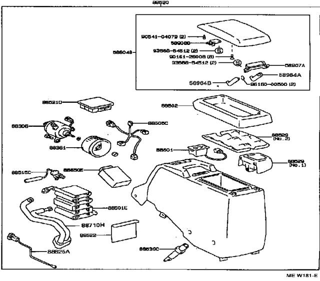 jdm console refrigerator retrofit