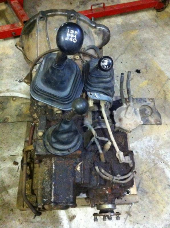 East Bay Tire >> 60 series transfer case with integrated Fairey overdrive ...