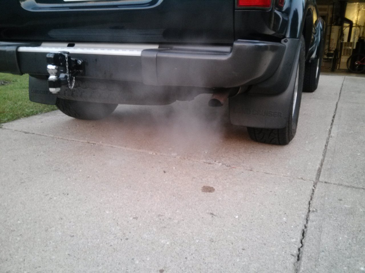 White Smoke and Water Out of Exhaust :::ADVICE PLEASE ...