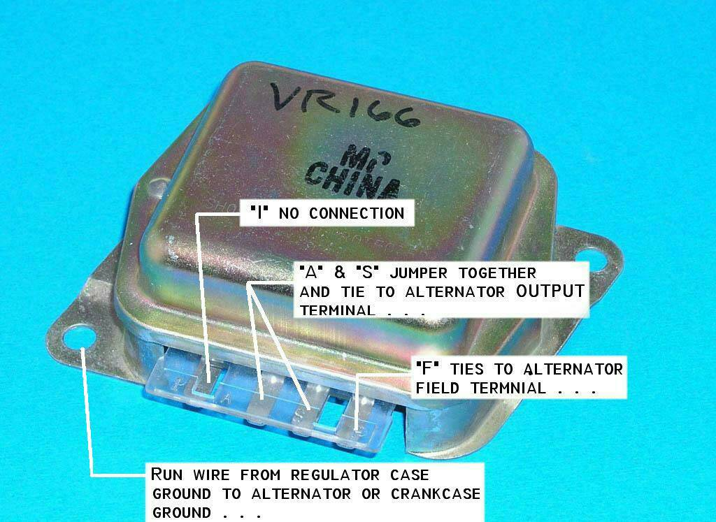 Ford External Voltage Regulator Wiring - Wiring Diagram Instructions