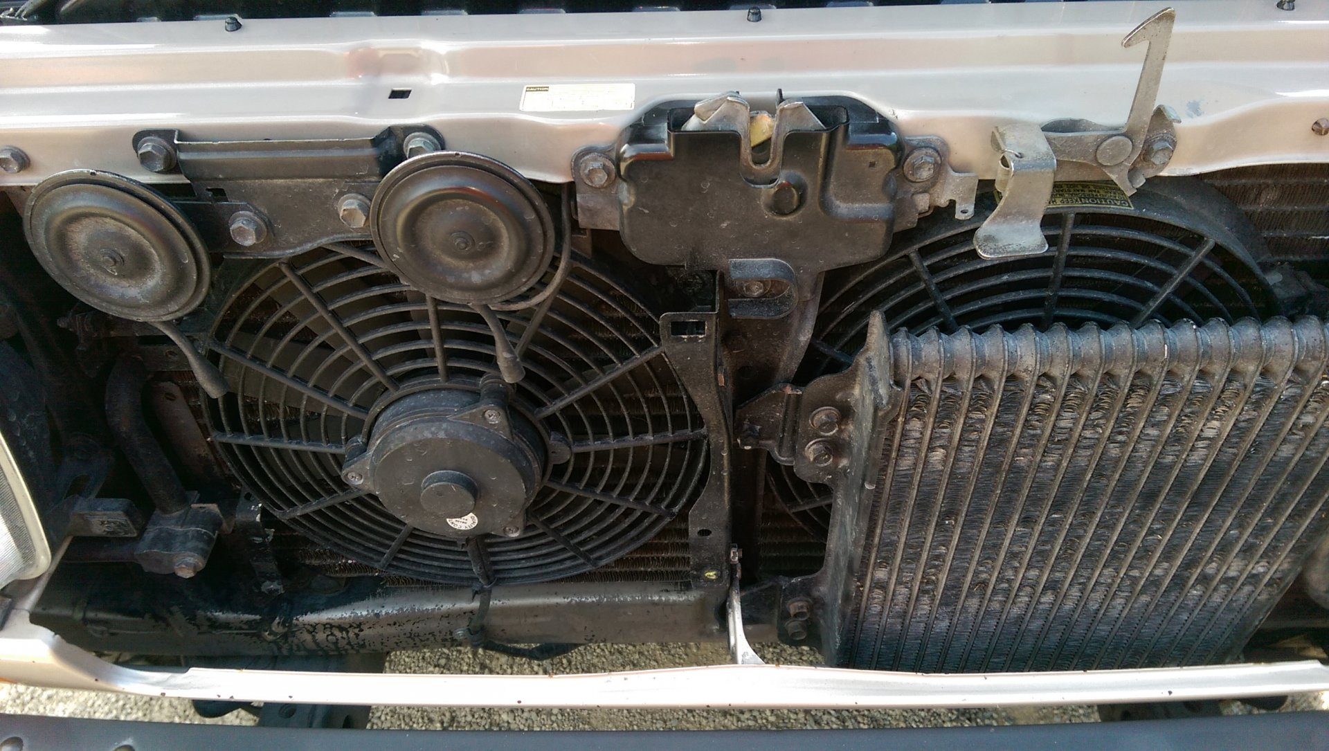 Pusher Ac Fan Wiring Dsm Another Blog About Diagram Electric With On Radiator Behind A C Condenser Ih8mud Forum Rh Com