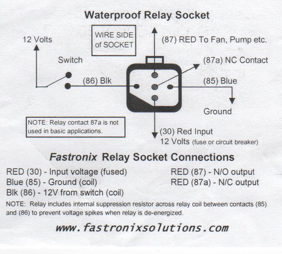 Anyone Know How a Relay Works? | IH8MUD Forum | Testing A 87a Relay Wiring Diagram |  | IH8MUD Forum