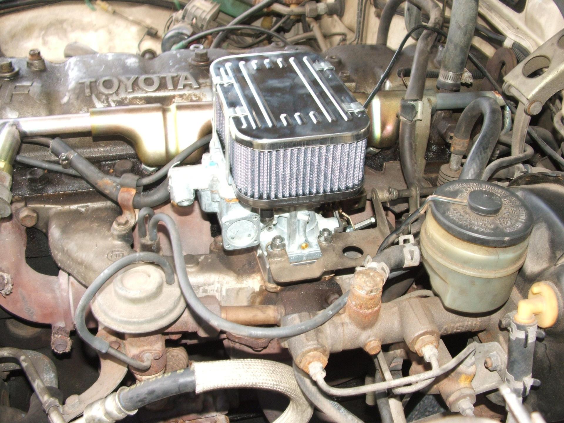Weber Carburetor Manifold Adapter for Toyota Land Cruiser 1F 2F FJ40 FJ60