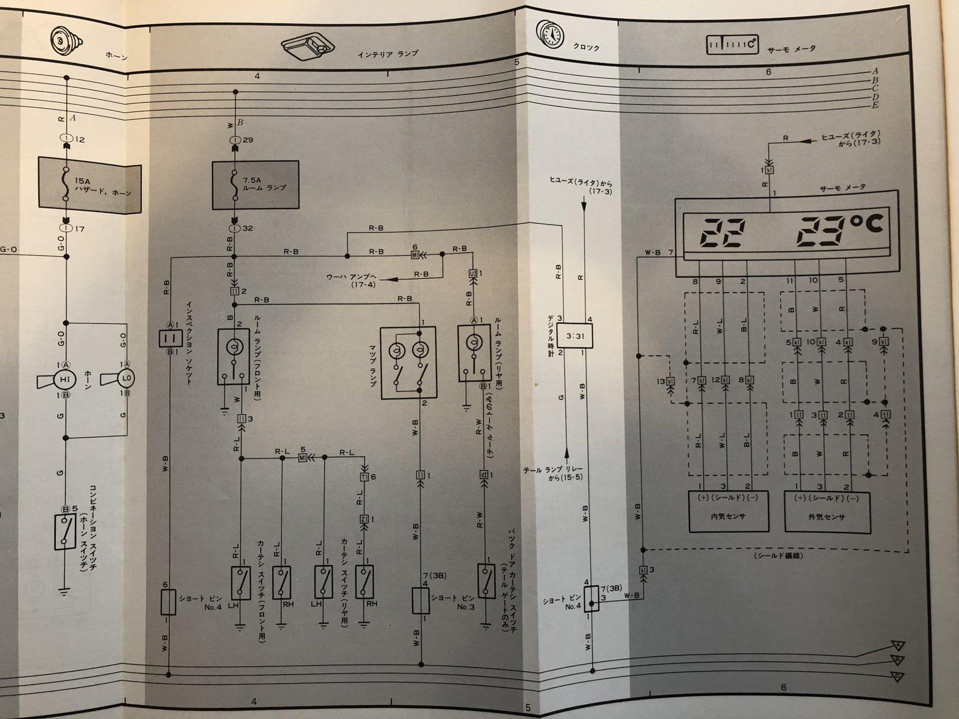 Gauge Wiring Diagram Hj61