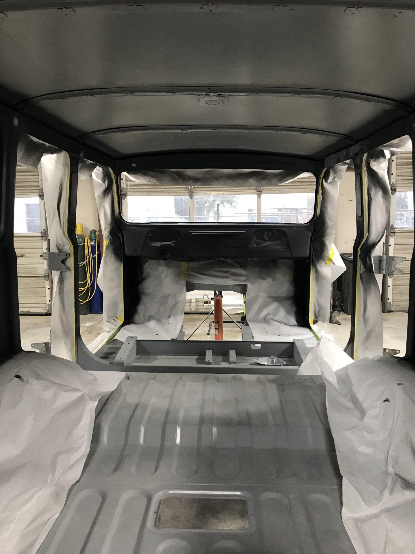 16 - First coat filler primer back to front IMG_8736.jpeg