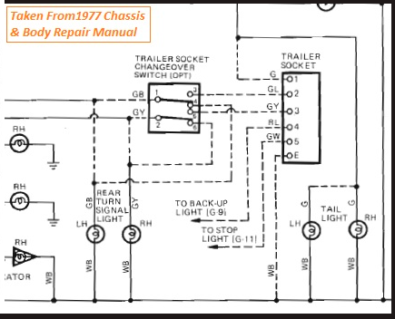 1977 FJ40 Trailer Socket and Switch connections.png