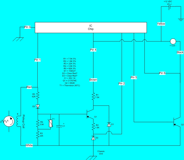 distributor ignitor wiring diagrams 1 1997 honda civic