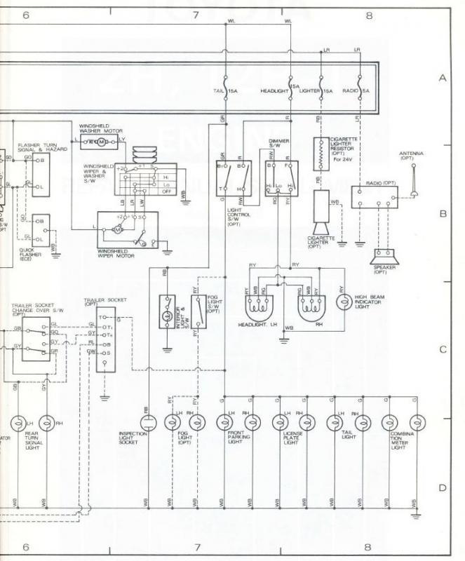 bj40 wiring diagram