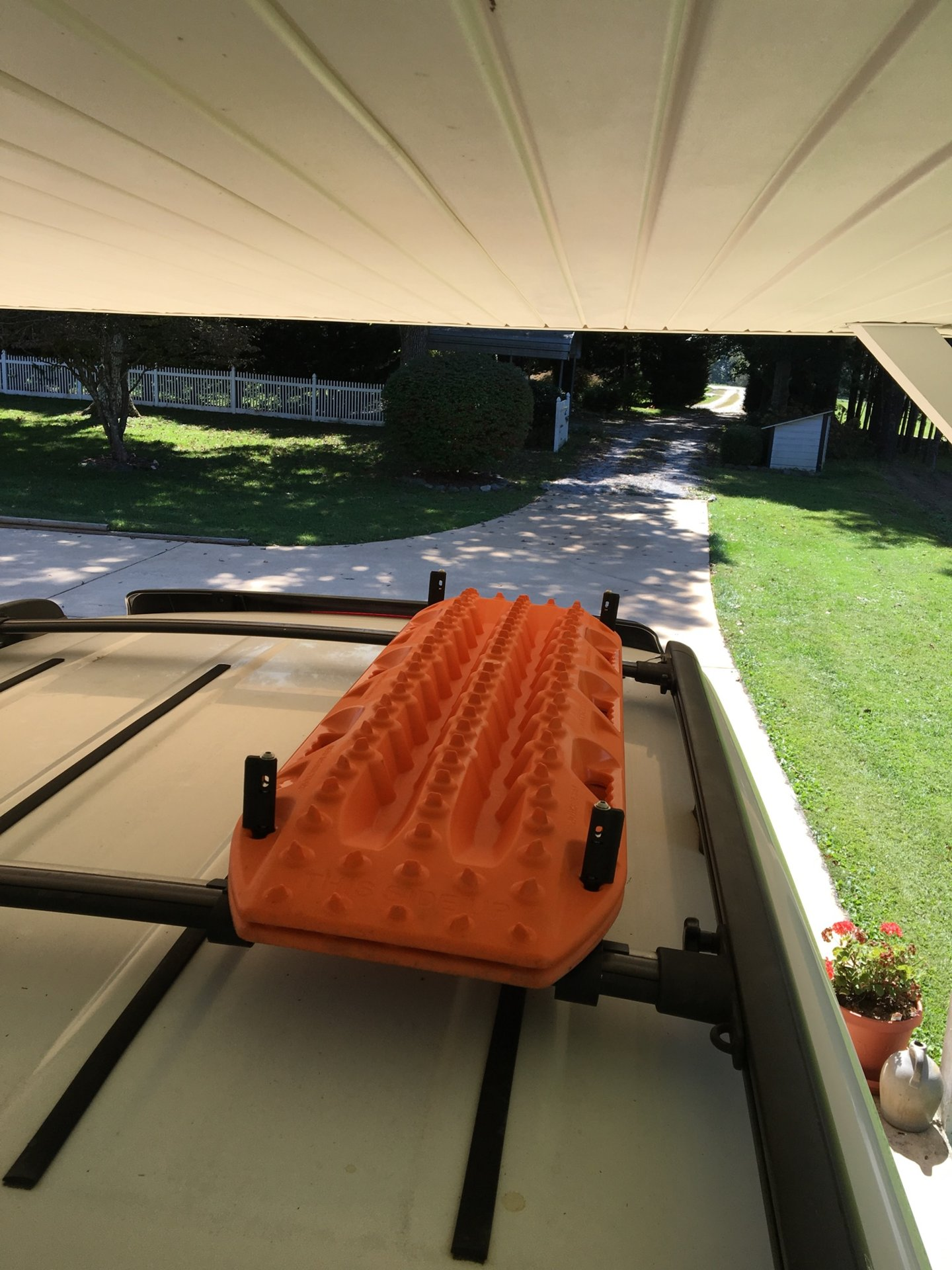 Anyone mount ARB 2500 Awning to stock roof rack? | Page 4 ...