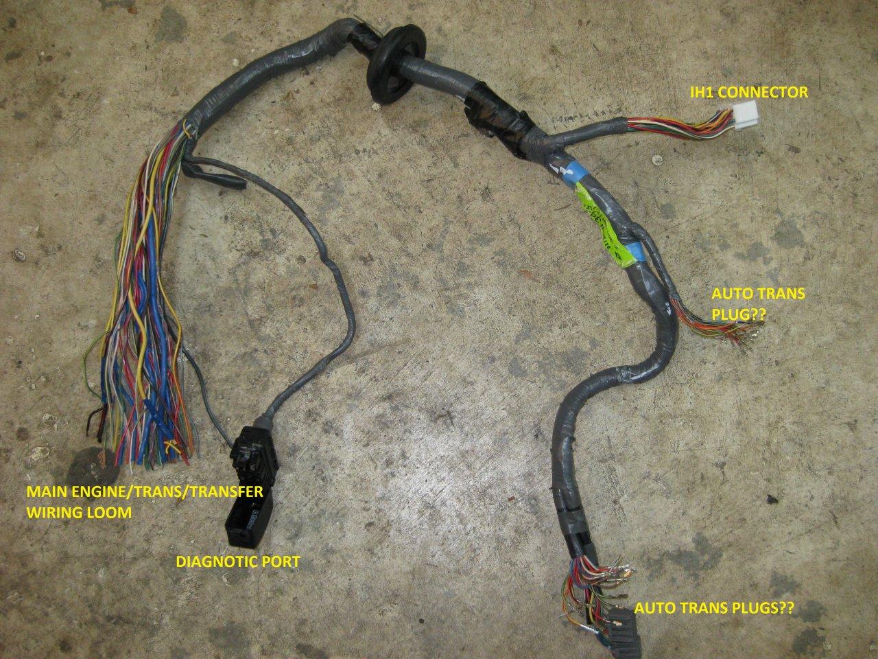 Euro 1HDFT Turbo DieselH151F 5 Speed Manual LHD 96 USA Swap – Lx570 Wiring Harness
