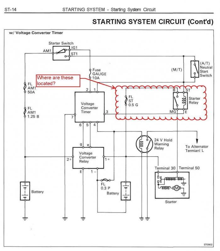 1hdt No Start problem | IH8MUD Forum Parell Series Switch Volt Starter Wiring Diagram on