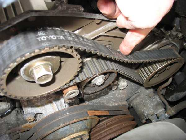 how to change timing belt on 1hz toyota engine