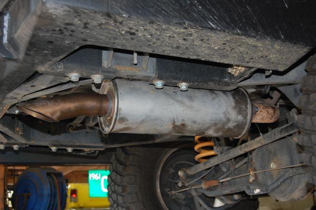 Rear Muffler Removal | IH8MUD Forum