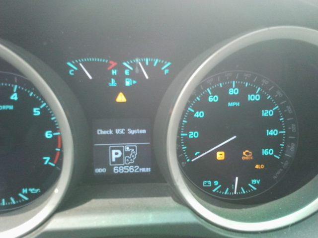 Help! Dash lights lit up after Dead Battery   | IH8MUD Forum