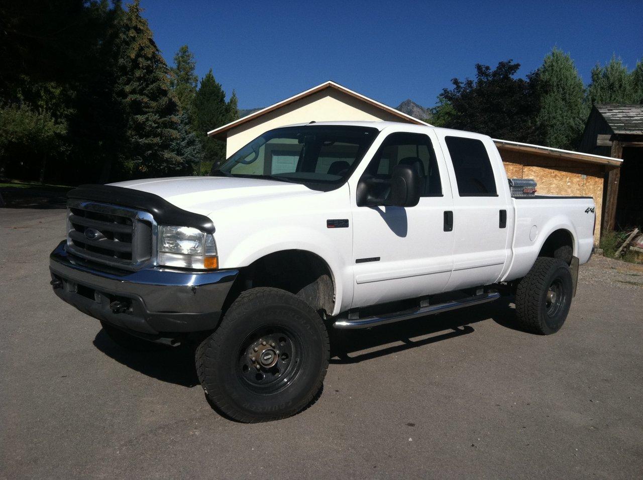 Tundra With 4runner Wheels >> (Utah) 2002 7.3L F350 4x4 CC SB Lifted, Lockers, 139k, new trans, injectors | IH8MUD Forum