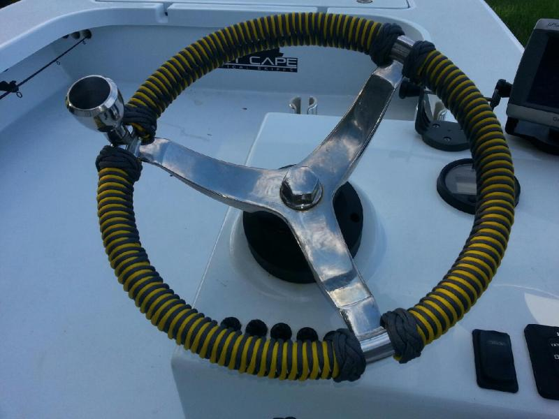 Coxcombing what the h ll is that ih8mud forum for Paracord steering wheel wrap