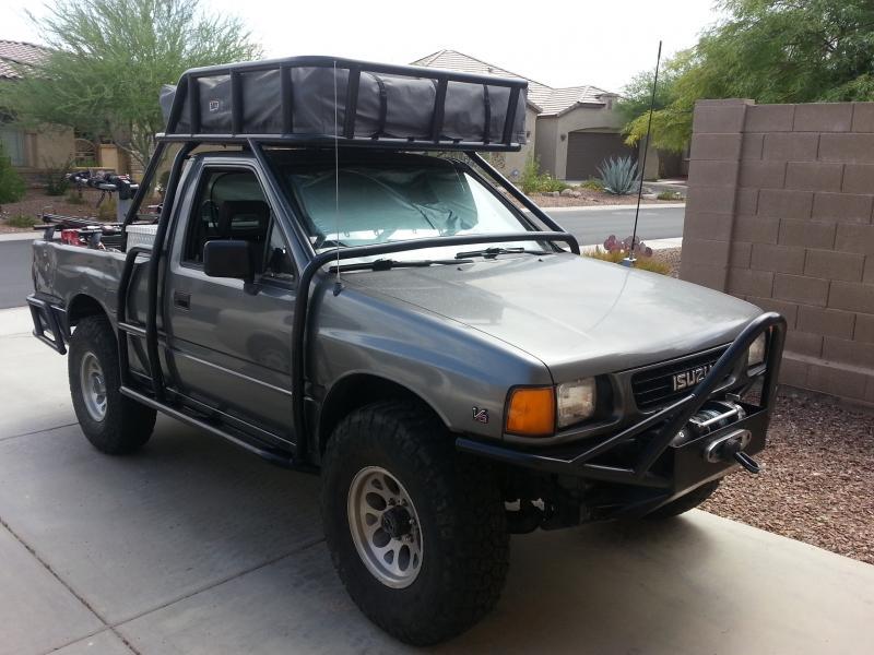 Toyota Tundra Diesel >> For Sale - 1992 Isuzu Pickup 4x4 - ARB Expedition Vehicle ...