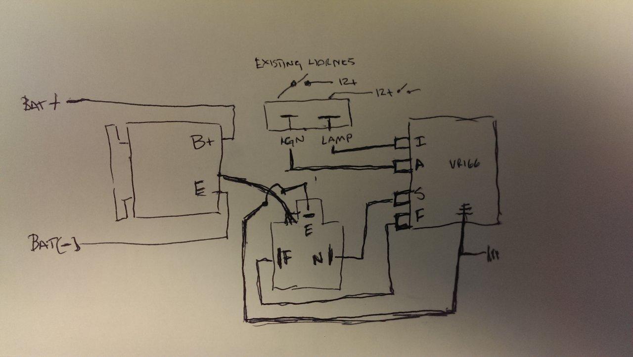 2H Alternator Questions  Identifying a 24v vs 12v Externally Regulated Alternator   IH8MUD Forum