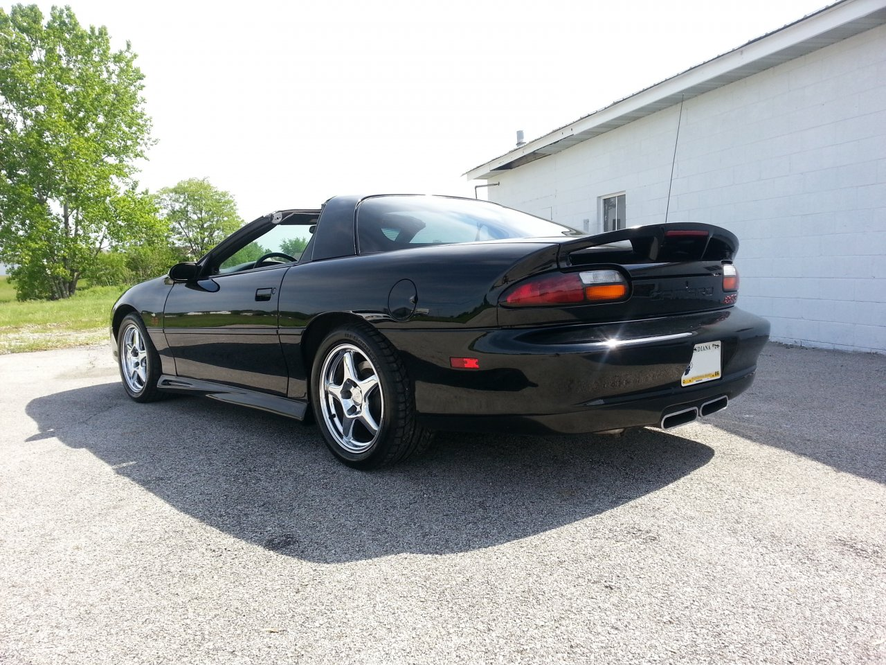 Trade 2001 Camaro Ss Slp Black On Black 6 Speed Manual