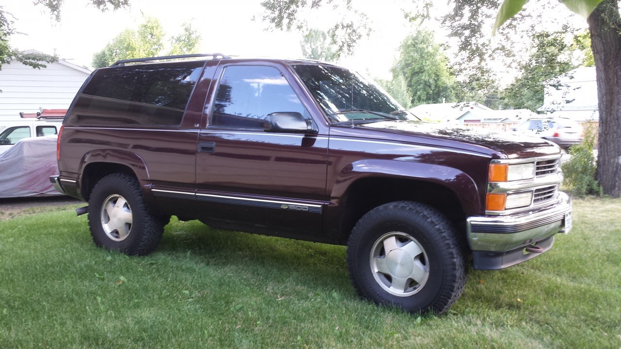14 Tahoe For Sale >> 2 door Chevy Tahoe $5000 | IH8MUD Forum
