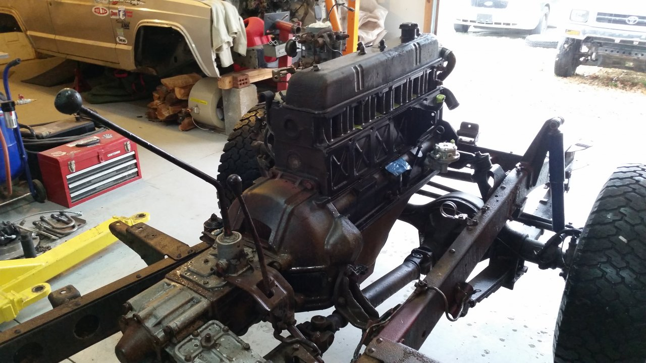 For Sale 1973 Fj40 Engine Trans T Case Knoxville Tn