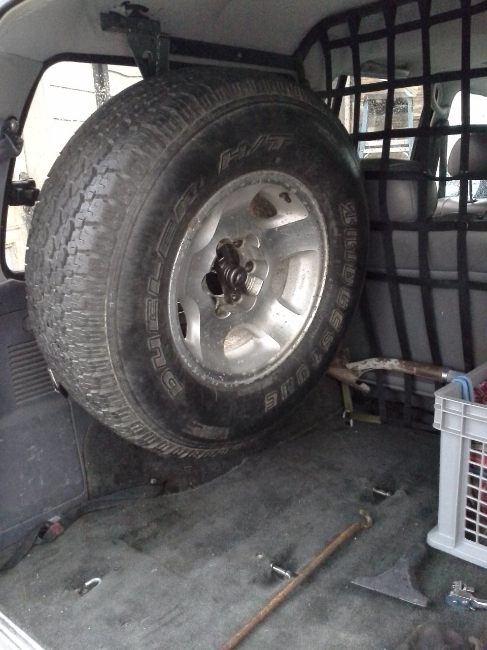 Interior Spare Tire Mount Finished Ih8mud Forum