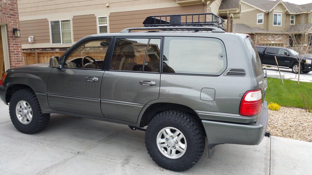Toyota Tacoma 1999 >> For Sale - 1999 LX470 125K Miles; Never Off Road; Denver, CO | IH8MUD Forum