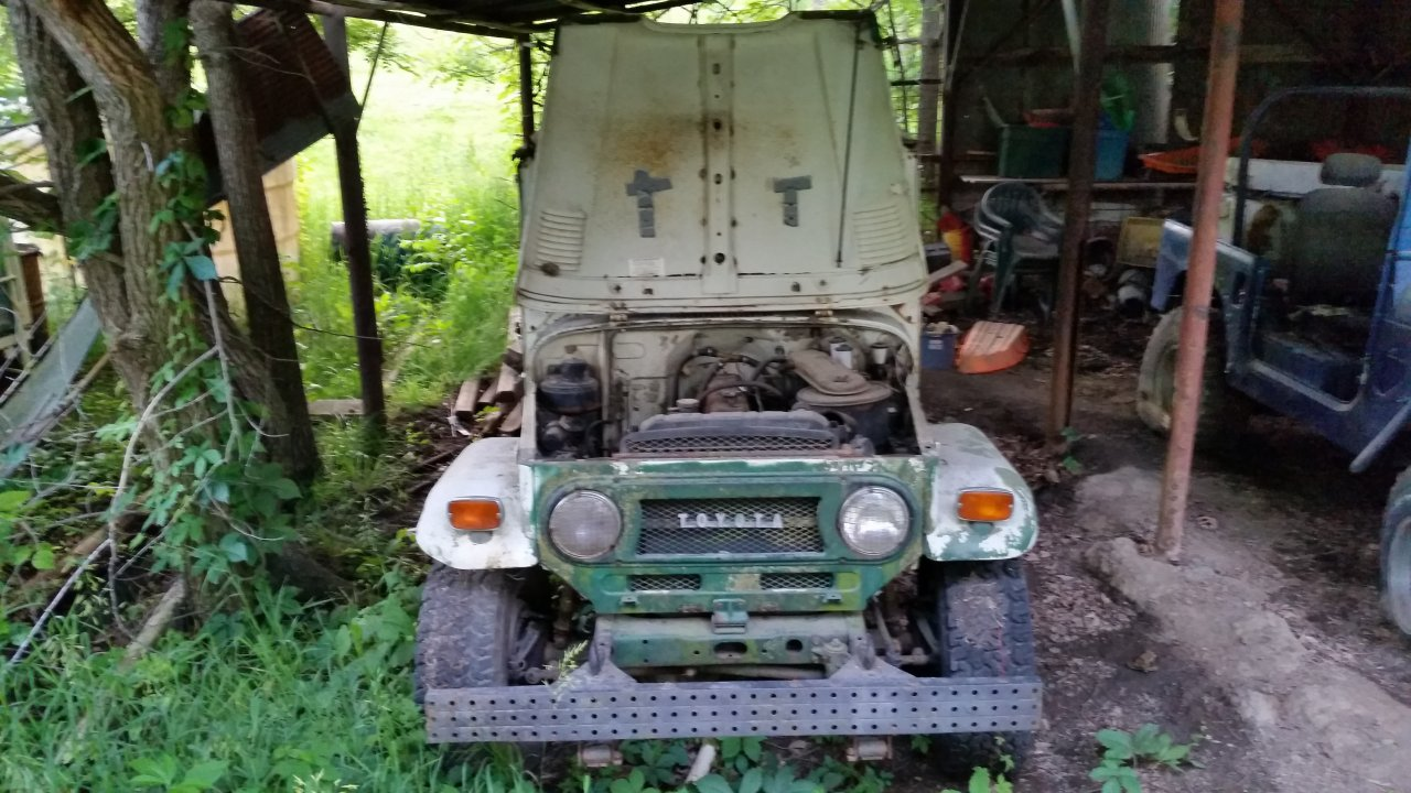 Parting Out For Sale 1973 Toyota Land Cruiser Fj40 Lawrence 20150602 202036