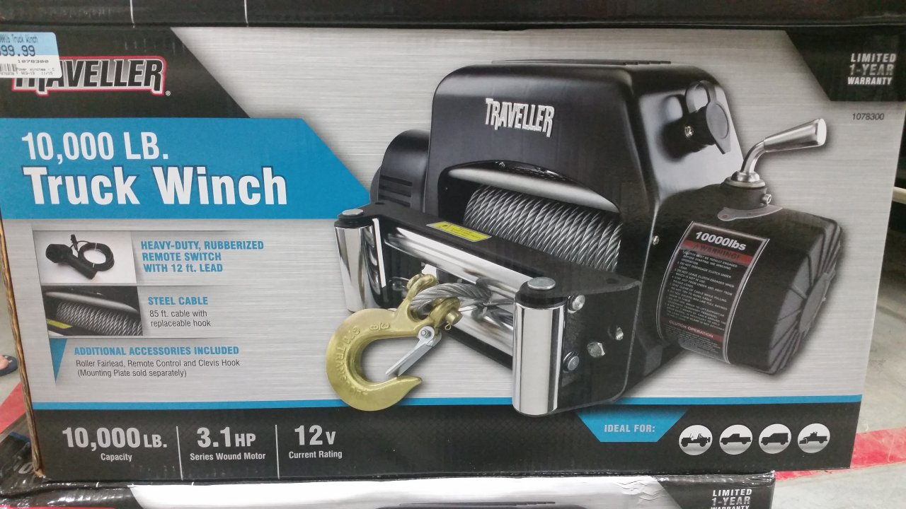 Winch     Does anyone have experience   IH8MUD Forum