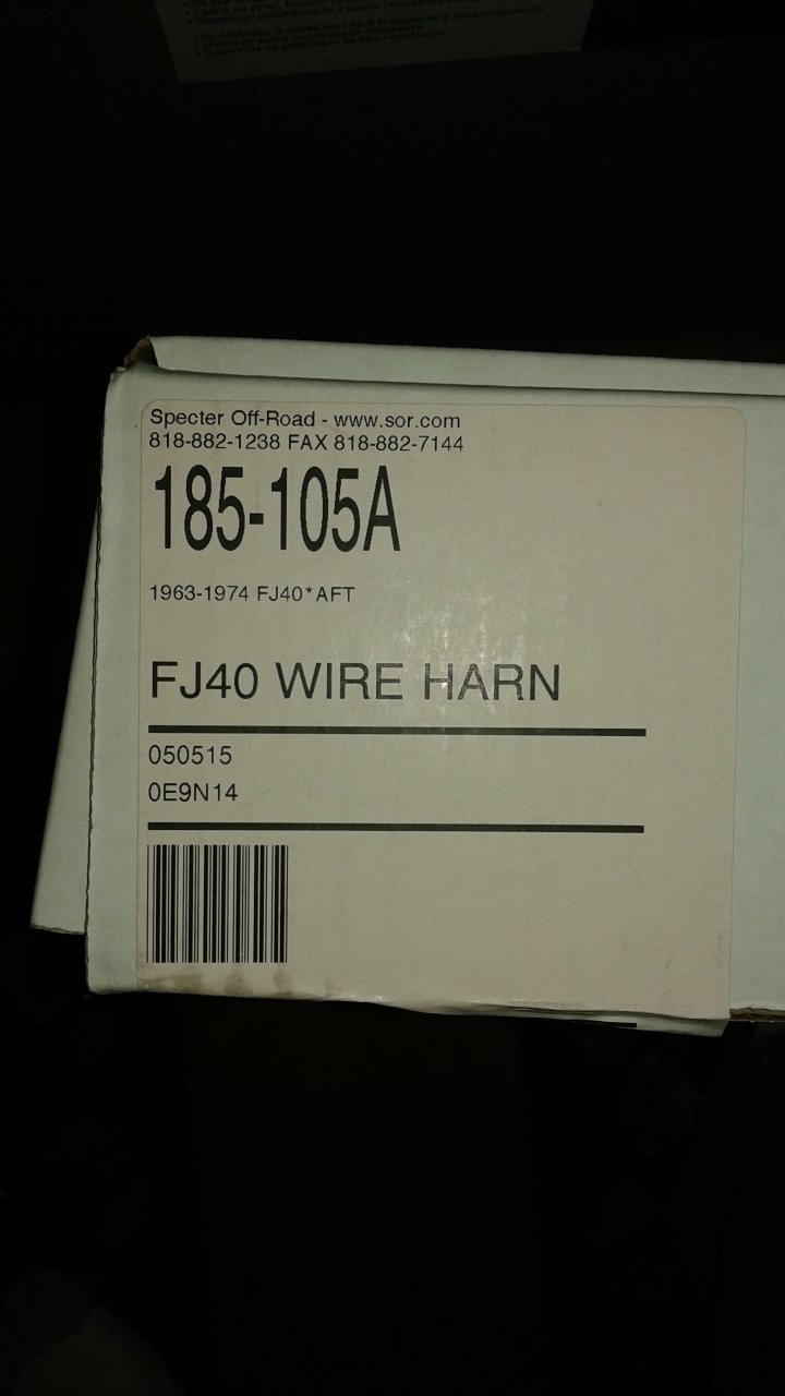 For Sale Sor Fj40 Wiring Harness Ih8mud Forum 20160228 181657