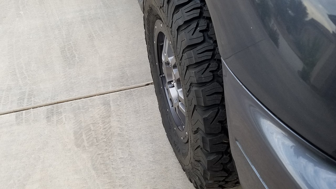 Discount Tire Utah >> Tundra wheels on 100 series photo thread   Page 11 ...