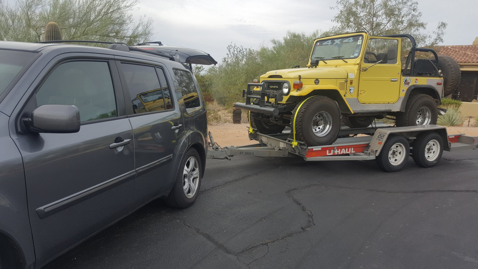 Towing With U Haul Auto Transporter Expedition Portal