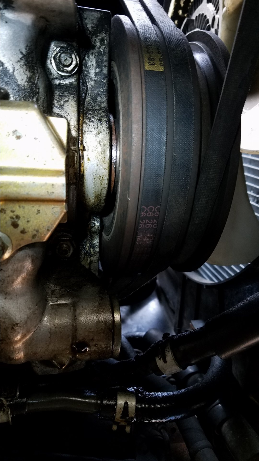 Front Crank seal keeps pushing out? | IH8MUD Forum