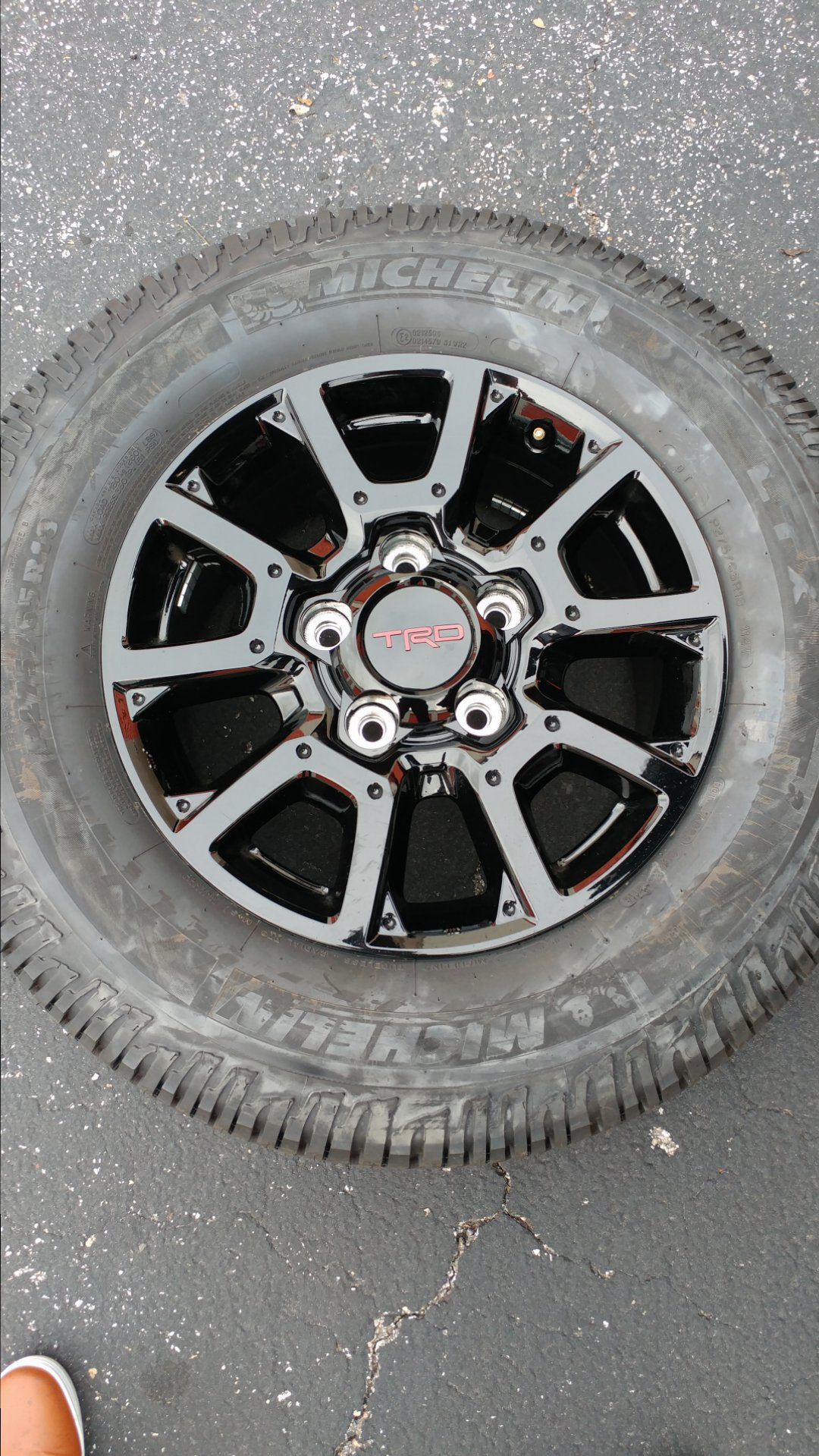 For Sale - TRD Pro Tundra wheels and Tires for sale- TX ...