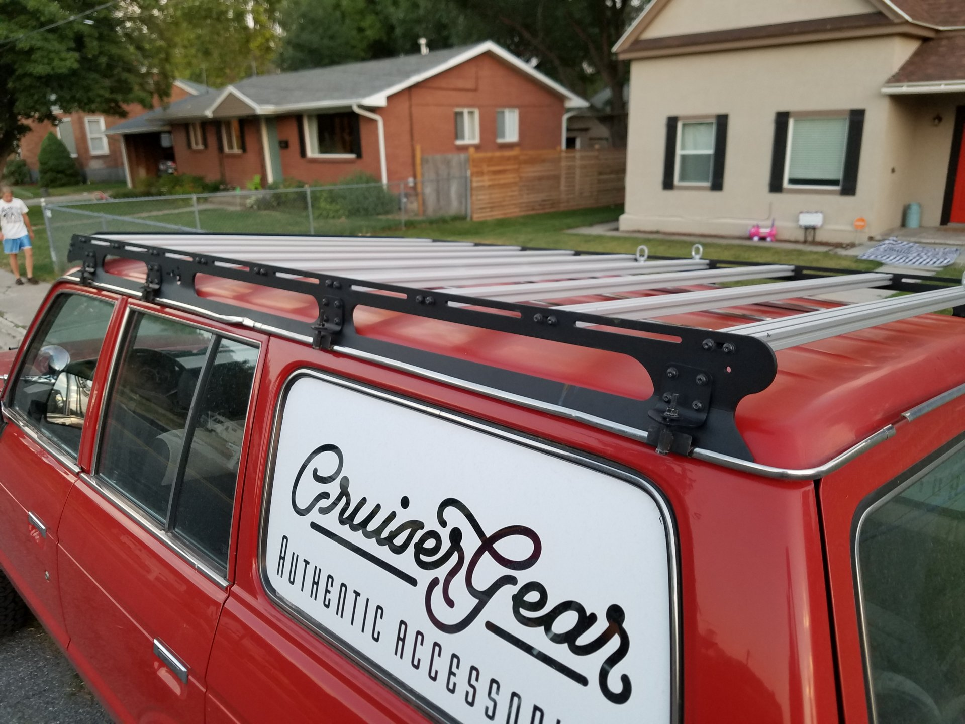 Prinsu roof rack - similar style and company for 60s? | Page 2