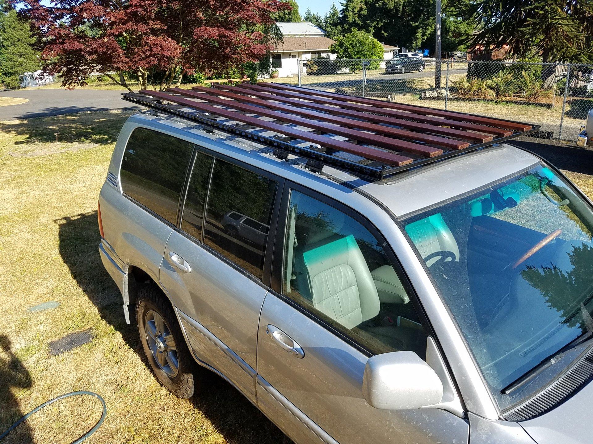 Simple Diy Roof Rack Ih8mud Forum